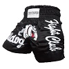 FIGHTERS - Muay Thai Shorts / Bulldog / Schwarz / Large